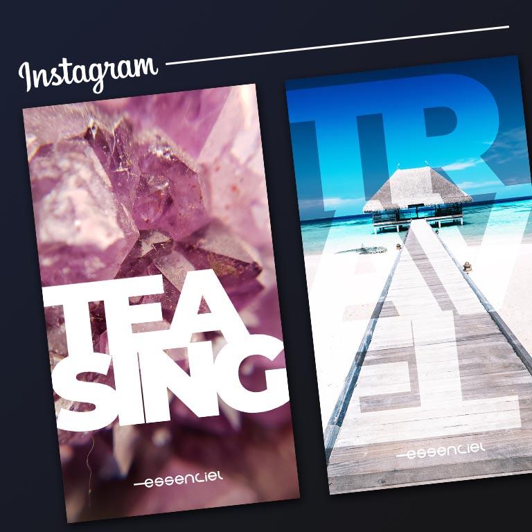 Création de story instagram